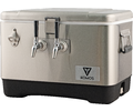 Komos™ Stainless Steel Draft Box - 2 Tap