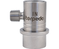 Torpedo Ball Lock Gas In - 1/4 in. MPT