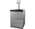 KOMOS™ V2 Kegerator with Stainless Steel Intertap Faucets - FREIGHT SHIPPING ONLY