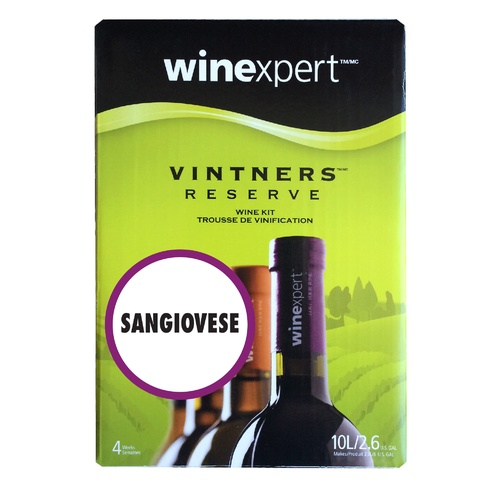 Winexpert Vintner's Reserve Sangiovese Wine Recipe Kit