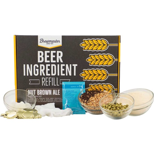 Beer Ingredient Refill Kit (1 Gal) - Nut Brown Ale