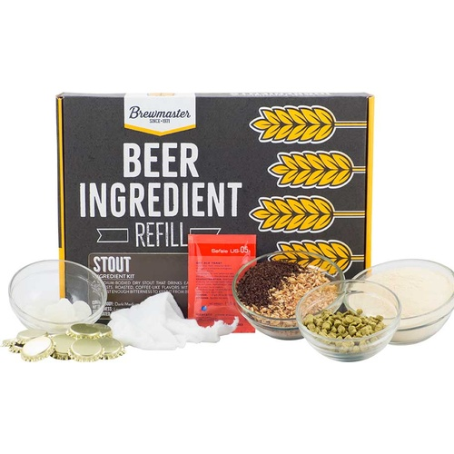 Beer Ingredient Refill Kit (1 Gal) - Stout