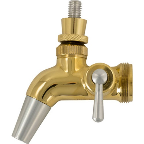 Intertap Forward Sealing Gold Plated Flow Control Faucet