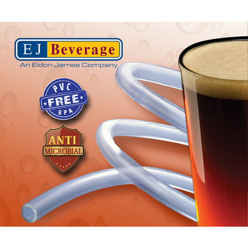Ultra Barrier Silver™ Antimicrobial and PVC Free Beer Tubing - (1/2 in ID)