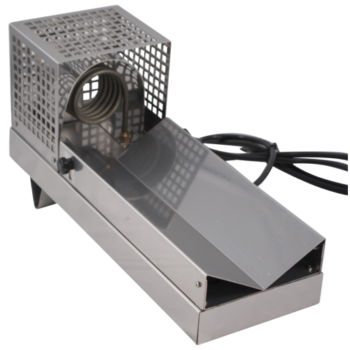 Horizontal Capsule Heat Shrinker - Stainless Steel