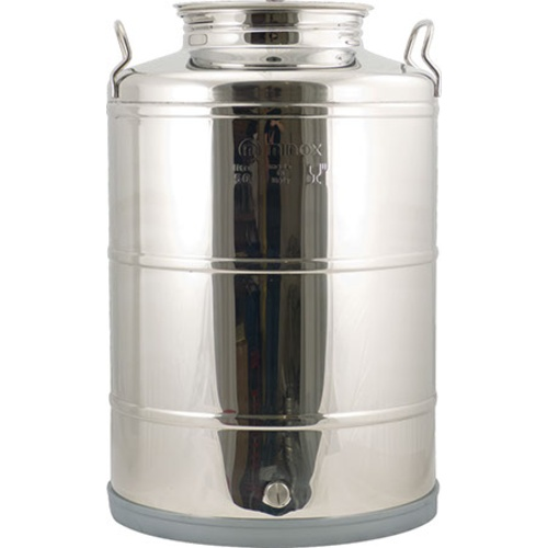 Stainless Fusti Tank - 14 Gallon