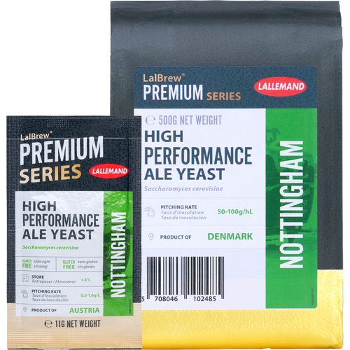 LalBrew® Nottingham High Performance Ale Yeast - Lallemand