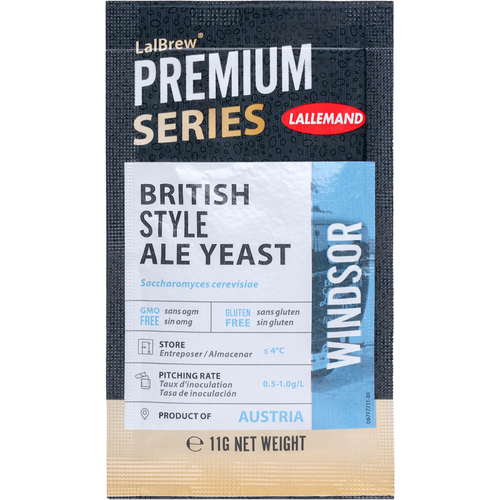 LalBrew® Windsor British Style Ale Yeast - Lallemand